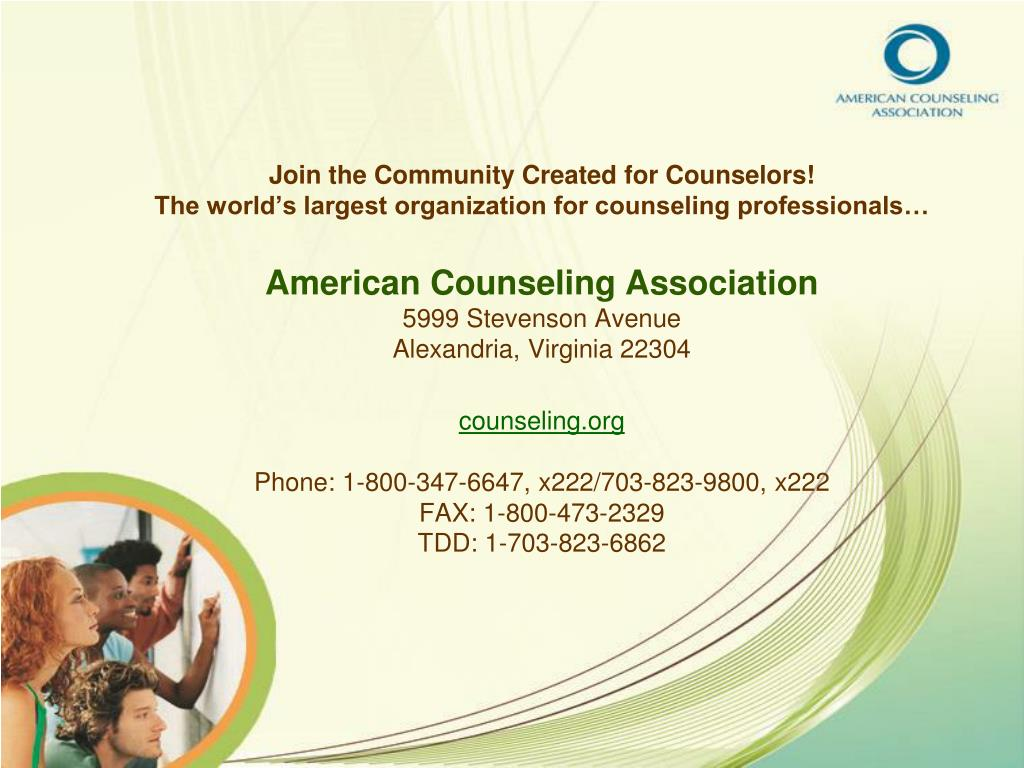 Join the Community Created for Counselors!