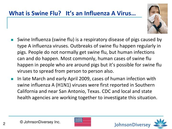 What is swine flu it s an influenza a virus