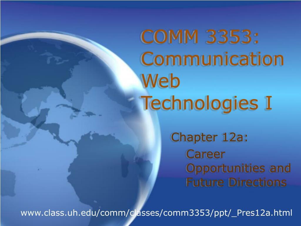 COMM 3353: