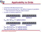 applicability to grids9