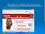 search jobs vacancies