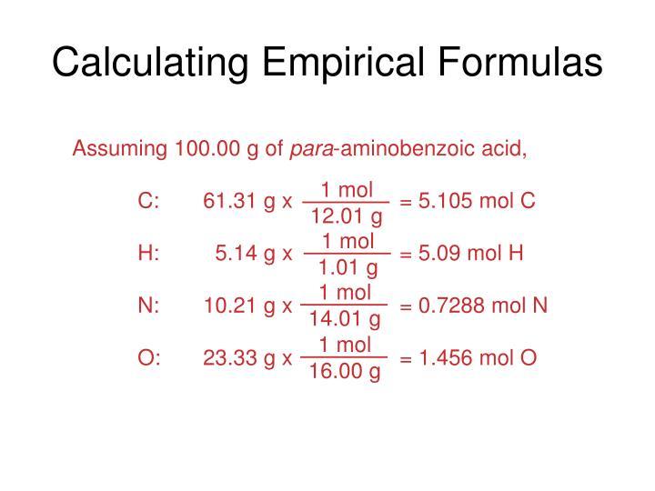 Assuming 100.00 g of