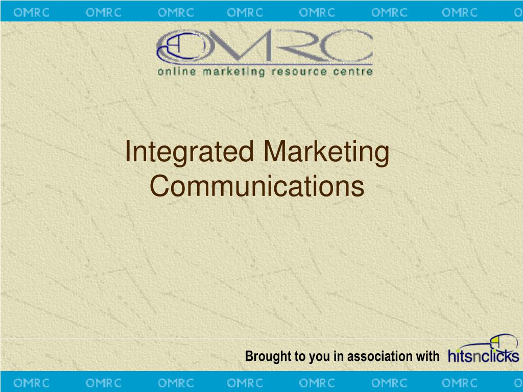 integrated marketing communications brief Marketing campaign briefing template 3/3 deadlines what is the launch date any other project milestones we need to be aware of are you or key project personnel on holiday during the development of this project.