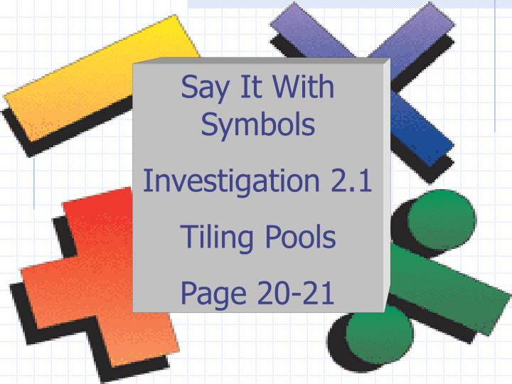 Ppt Say It With Symbols Powerpoint Presentation Id475163