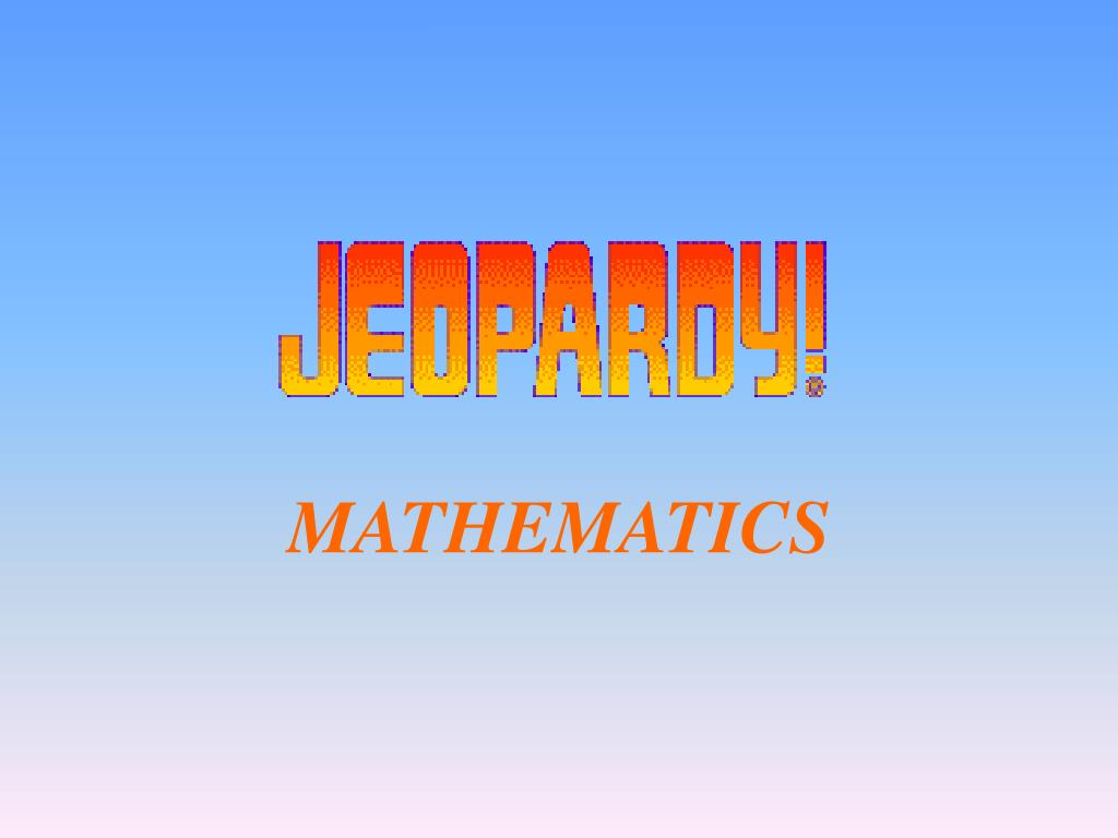 mathematics l.