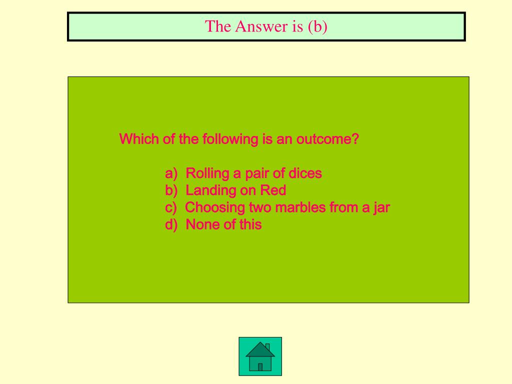 The Answer is (b)