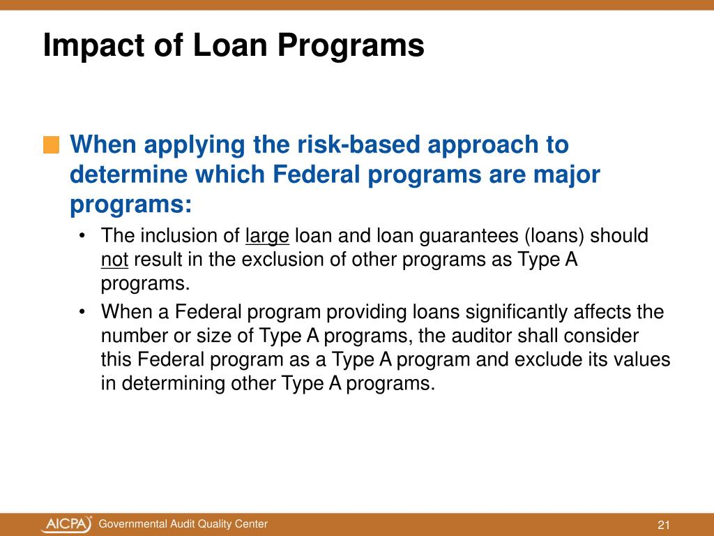 When applying the risk-based approach to determine which Federal programs are major programs:
