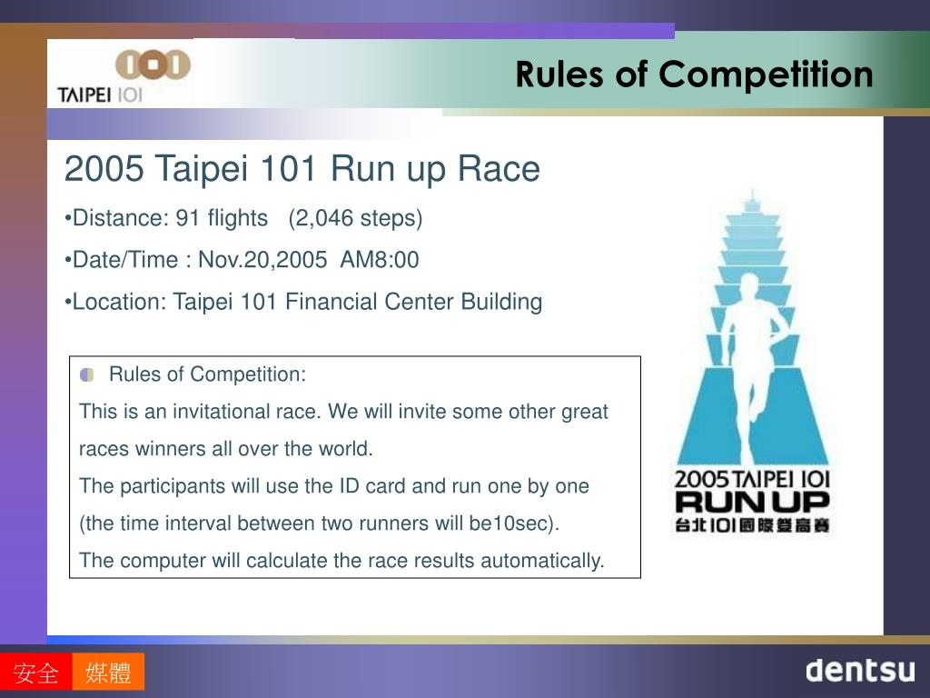 rules of competition l.