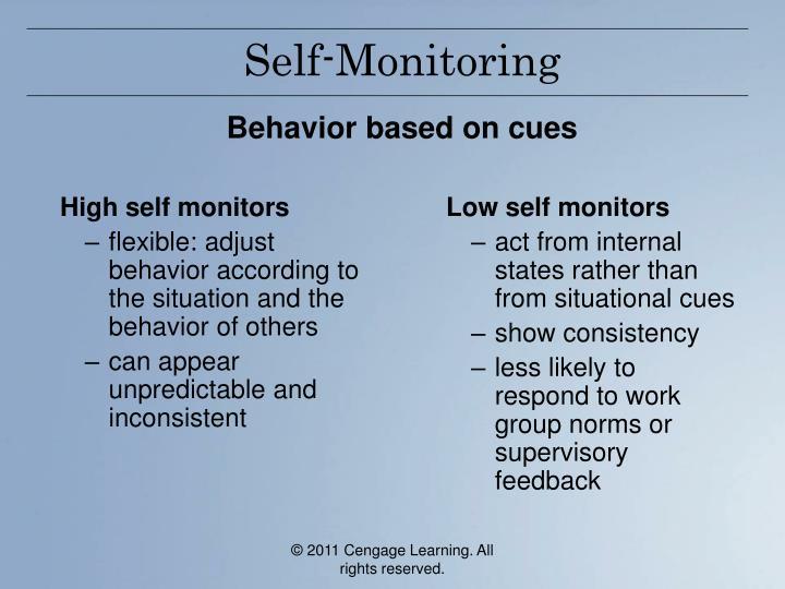 High self monitors
