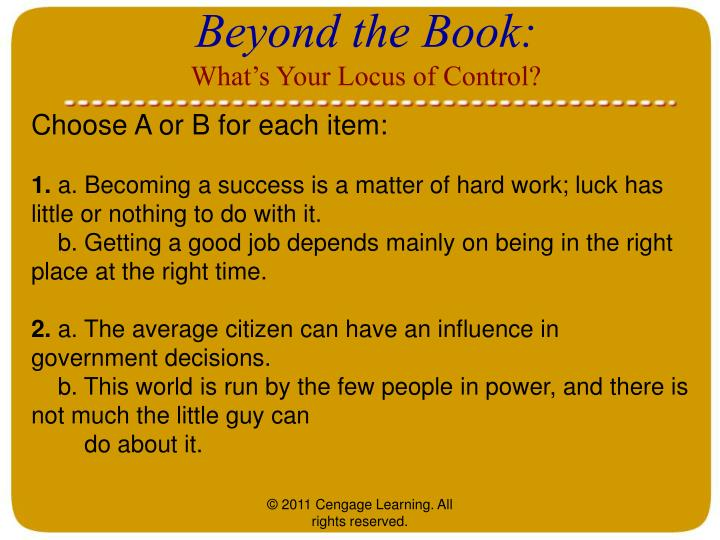 Beyond the Book: