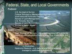 federal state and local governments
