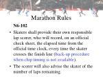 marathon rules18