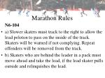 marathon rules20
