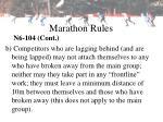marathon rules21