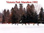 victoria park marathon 19929
