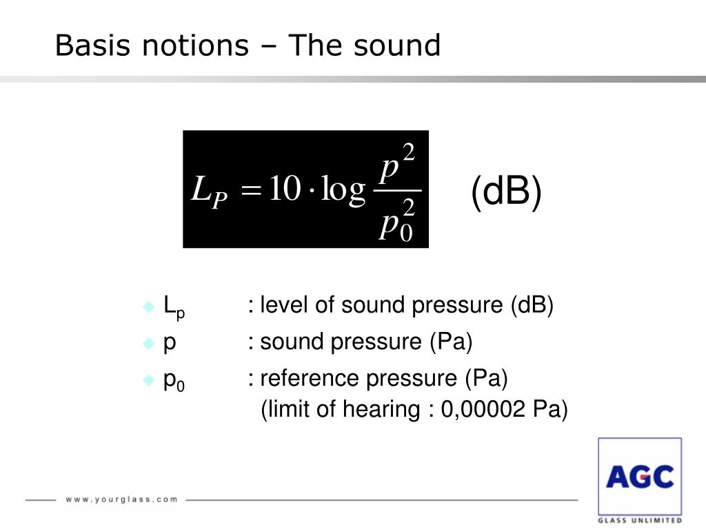 PPT - Glass and acoustic insulation 2008 PowerPoint