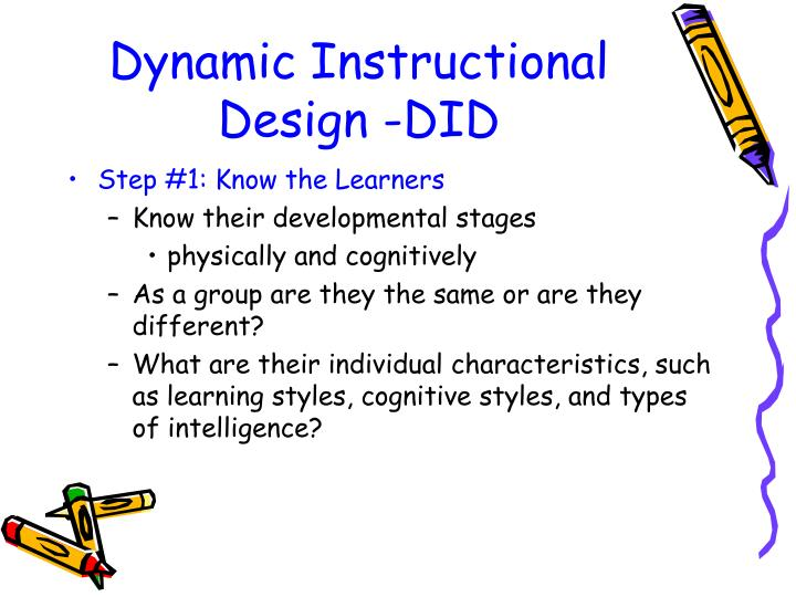 Ppt Understanding The Learner Powerpoint Presentation Free Download Id 475317