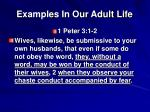 examples in our adult life3