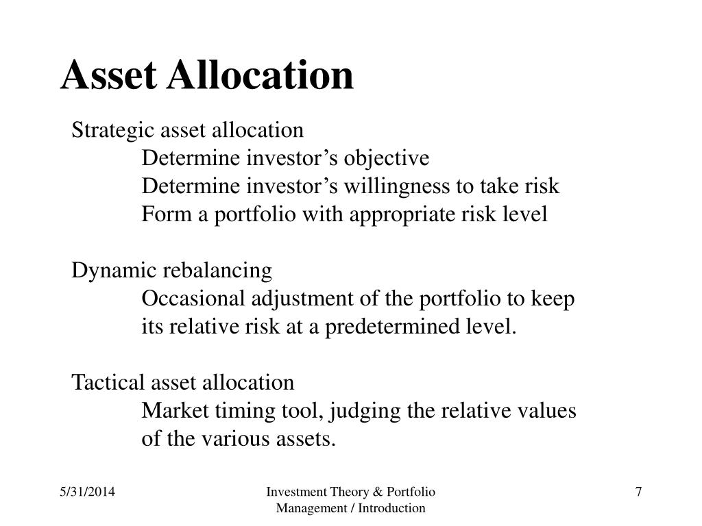 PPT - Investment Objective PowerPoint Presentation - ID:475593