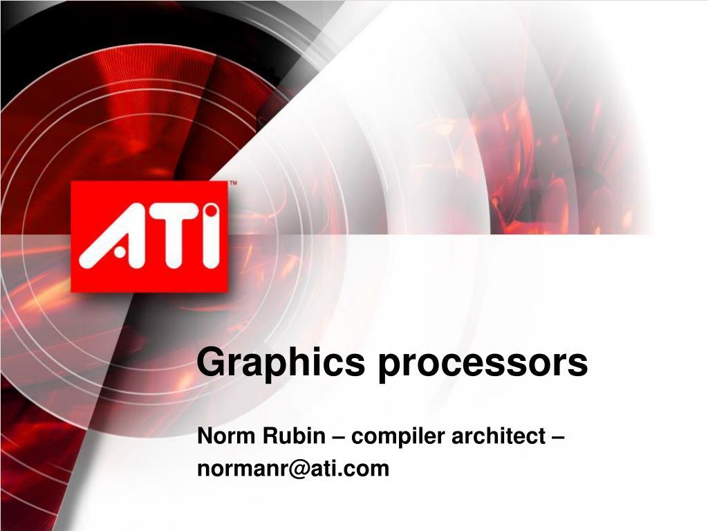 graphics processors l.