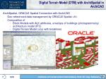 digital terrain model dtm with archispatial in archicad
