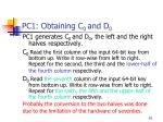 pc1 obtaining c 0 and d 0
