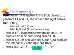 the function f k