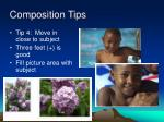 composition tips42