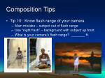composition tips48