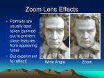 zoom lens effects24