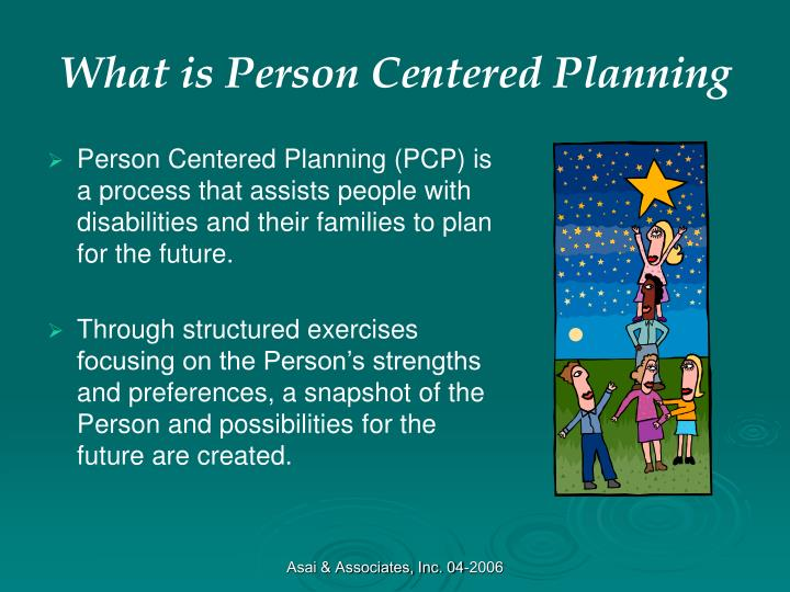 What is person centered planning
