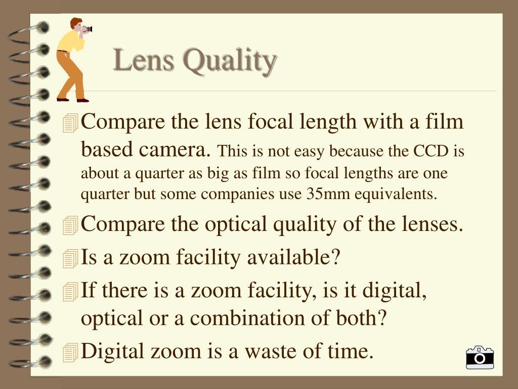 Lens Quality