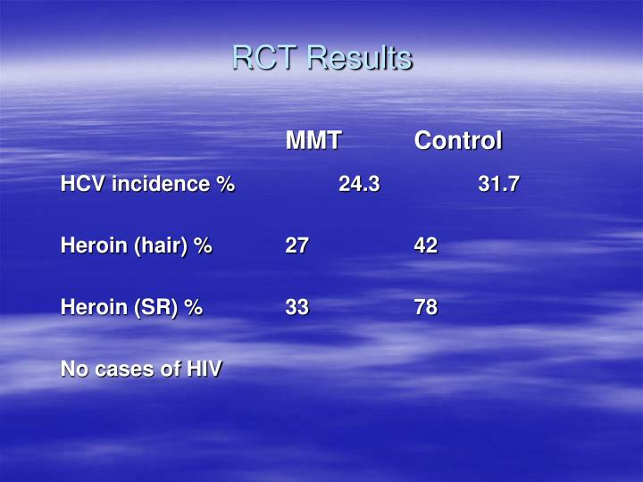RCT Results