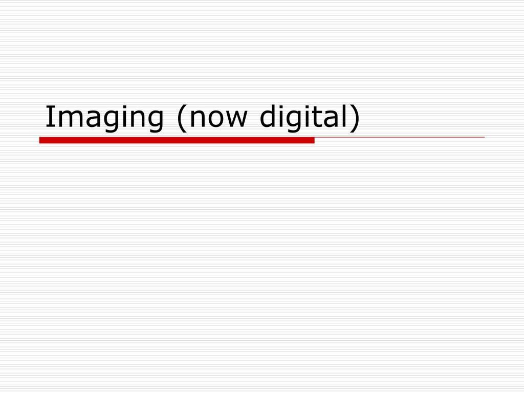 imaging now digital l.