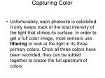 capturing color