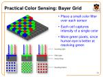 practical color sensing bayer grid