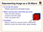 representing image as a 3d matrix