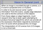 vision in general cont