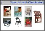 vision is hard classification