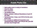 kodak photo cds