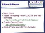 album software