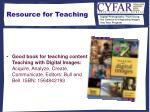 resource for teaching30
