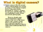 what is digital camera