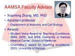 aamsa faculty advisor