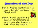 question of the day3