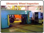 ultrasonic wheel inspection
