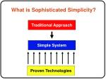 what is sophisticated simplicity
