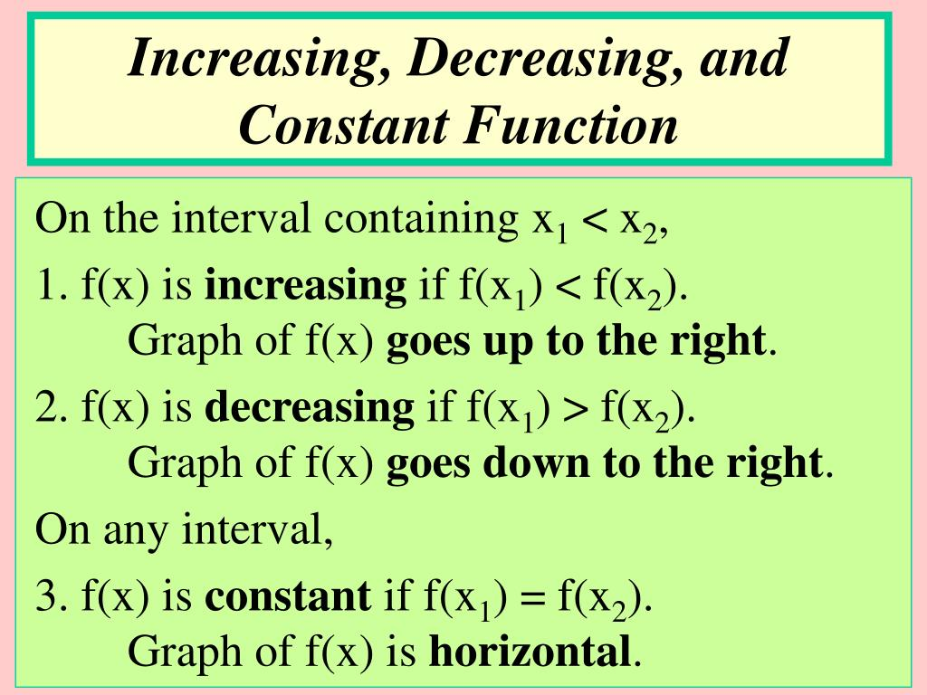 PPT - PRECALCULUS I PowerPoint Presentation - ID:476305