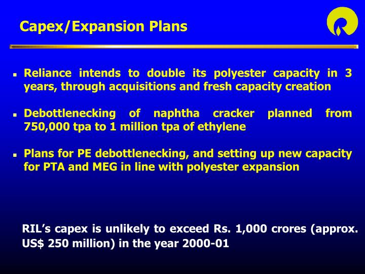 PPT - Reliance Industries Limited Financial Presentation April 18