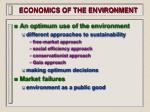 economics of the environment12